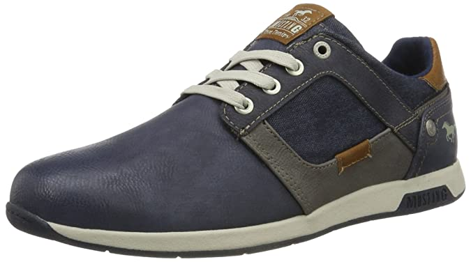 Cheap Sale Official Cheap Sale Low Price Mens 4115-302-875 Low-Top Sneakers Mustang Free Shipping Marketable p4MGTaOF4