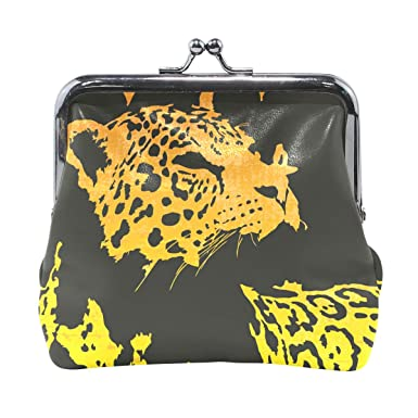 Amazon.com: Cartera de leopardo monedero monederos vintage ...