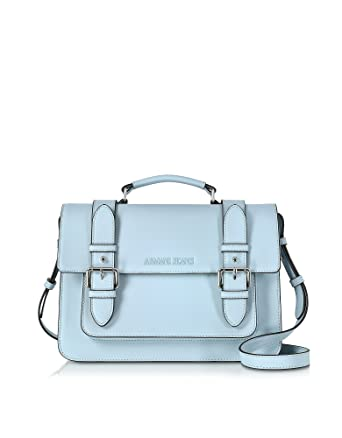 Armani Jeans Women s 9222137P772 Light Blue Faux Leather Shoulder Bag   Amazon.co.uk  Clothing cfec2fb7bfe9f