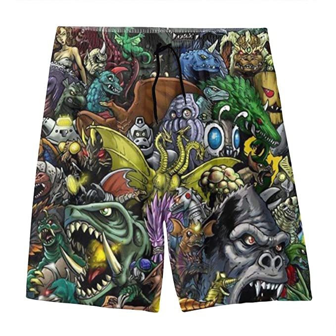 Amazon.com: Pantalones cortos de natación de secado rápido ...