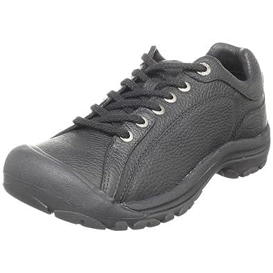 KEEN Women's Briggs II Leather Casual Shoe,Black Full-Grain,11 ...