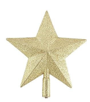 LeisialTM Decoración Cavideña Colgantes Estrella de Cinco Puntas del Árbol de Navidad Decoración de Fiesta Navidad Accesorios Colgantes: Amazon.es: Hogar
