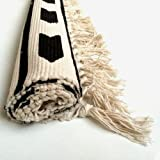 Cotton Handwoven Tassel Breathable Floor Mat/ Area