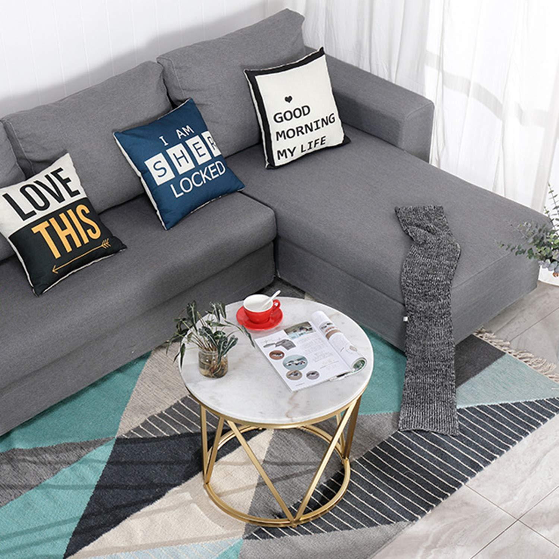 WSXX Table Basse Moderne Simple De Salon Mini Table Basse Ronde De ...