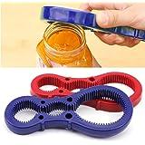 HuntGold Multi Purpose Grip Easy Twist Jar & Bottle Top / Lid Opener Useful Random Color
