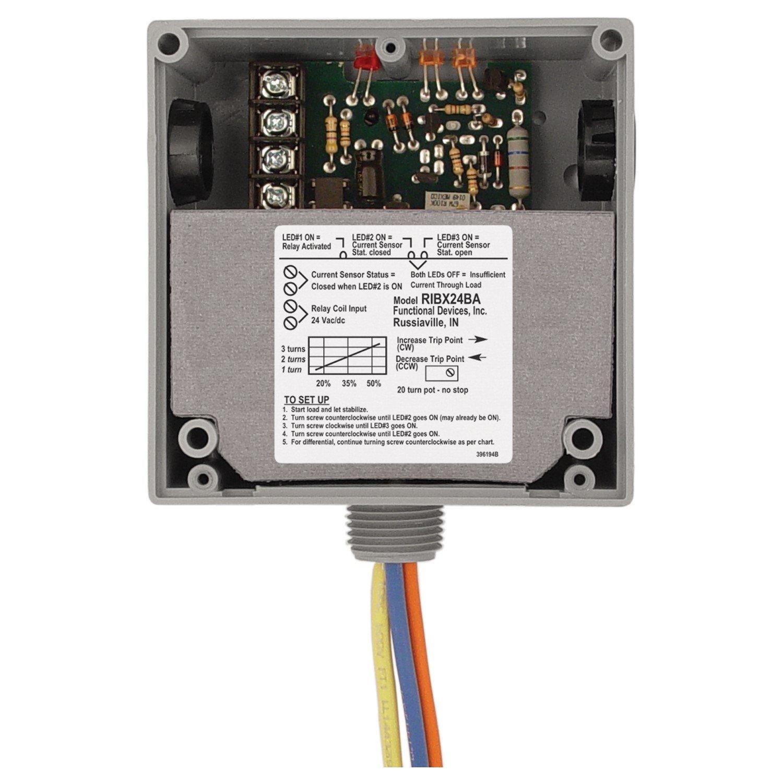Loulensy AC Voltage Transducer Voltage Sensor Transmitter Transformer Input 0-300V AC Output 4-20mA DC