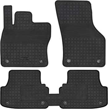 All Weather Heavy Duty Floor Mat Set Custom Fit Car Floor Mat Compatible with 2019-2020 Audi A6 Sedan