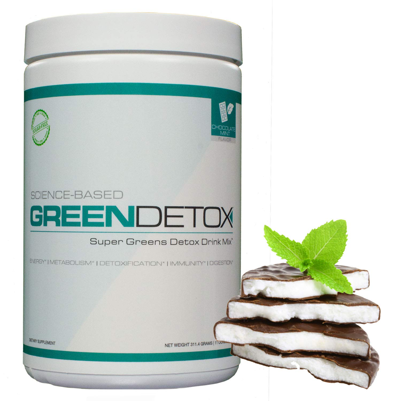 Amazon.com: Green Detox - Superfood Drink Mix - Sugar Free