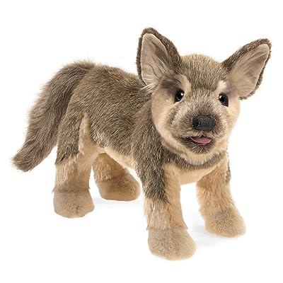 Folkmanis German Sheperd Puppy Hand Puppet: Toys & Games