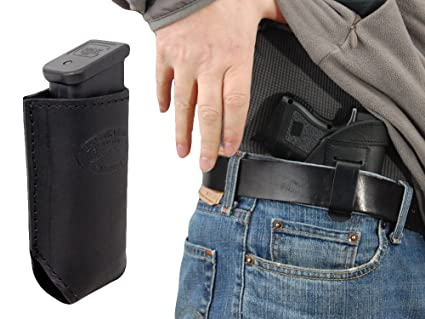 Strong-Willed New Barsony Tan Leather Gun Quick Slide Holster Kel-tec Kimber Compact 9mm 40 Holsters, Belts & Pouches