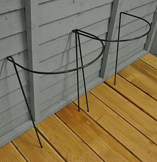 Pack of 8 Selections Garden Hoop Plant Bow Support System 52cm x 90cm