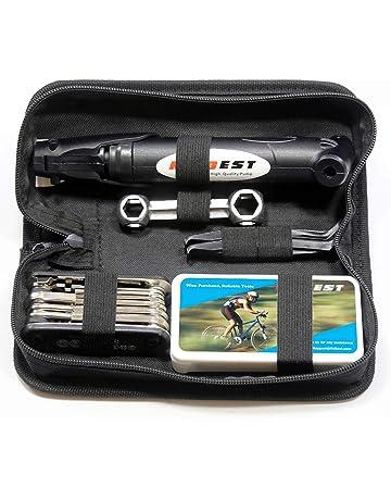 7a73f48ad17 Mini Bike Pump   Tire Puncture Repair Kit   Multi-Function Bike Bicycle  Cycling Mechanic