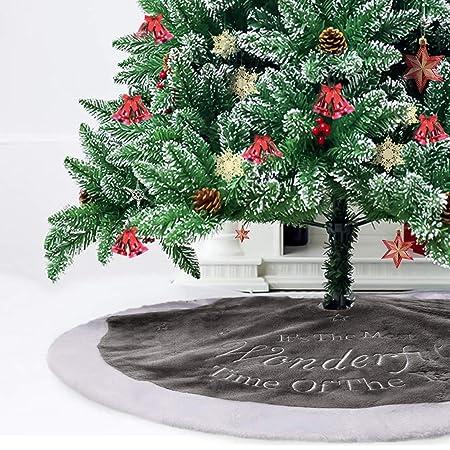 PROTAURI Piel de Faldas de árbol de Navidad - Decoración de ...