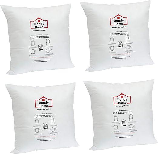 12x20 Trendy Home 12x20 Premium Hypoallergenic Stuffer HomeThrow Pillow Insert