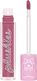 product image for Lime Crime Plushies Soft Matte Lipstick, Lavender Honey - Sheer Nude Lavender - Blackberry Candy Scent - Long Lasting, Nude Lips - Soft Focus, Non-Opaque Lip Veil - 0.11 fl oz