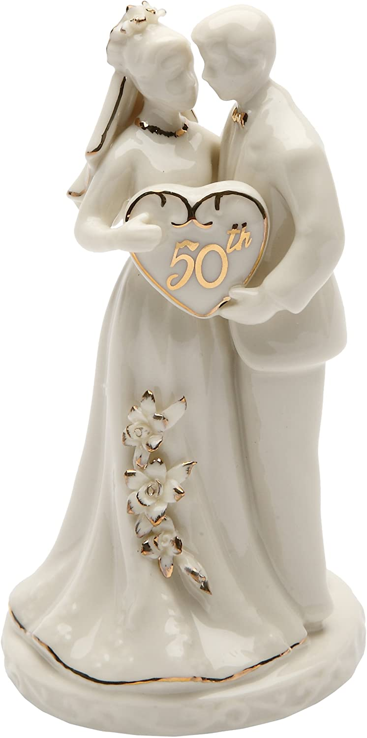 Cosmos Gifts 50th Anniversary Cake Topper