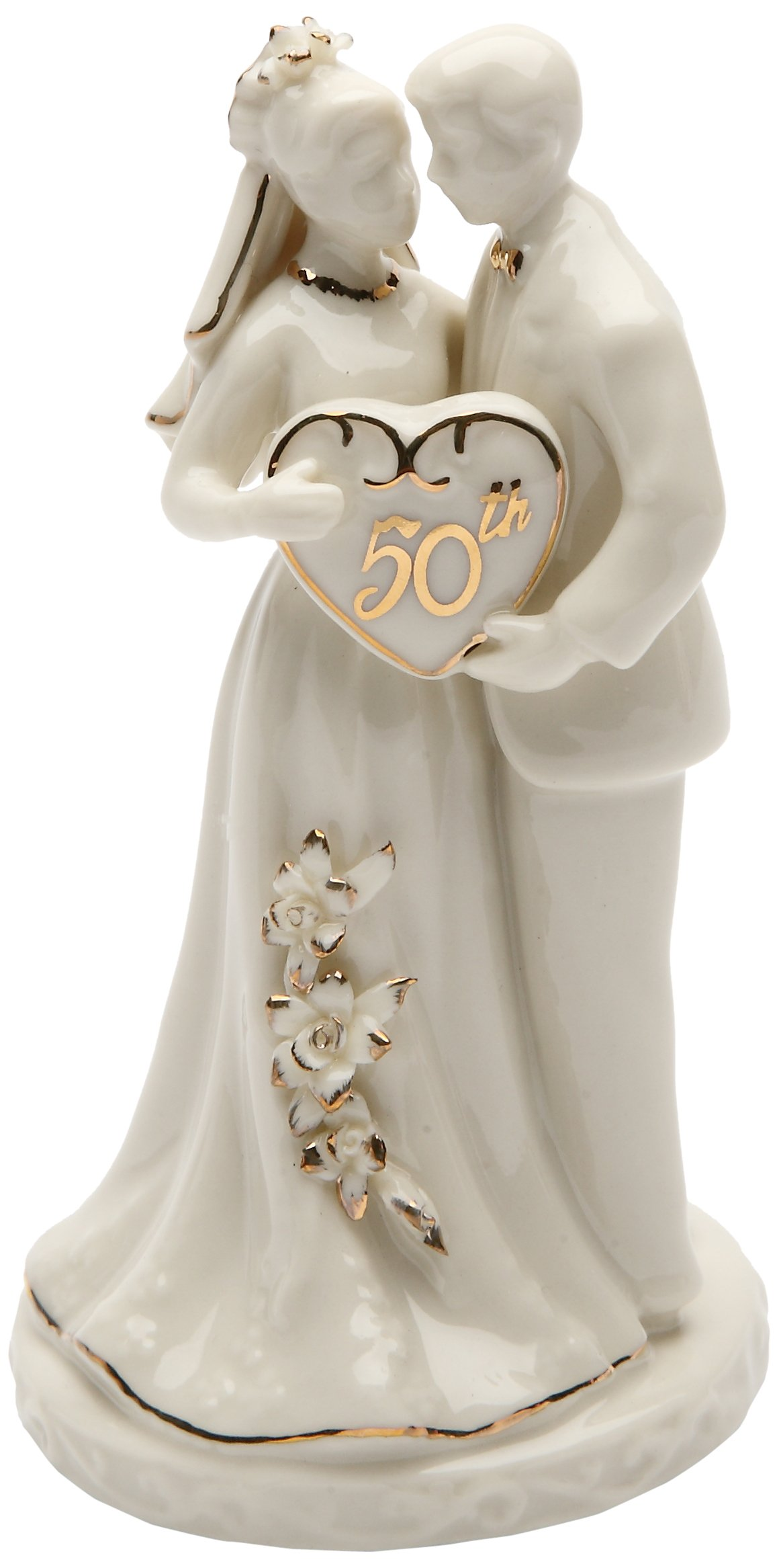 Cosmos Gifts 30715 Ceramic 50th Anniversary Couple Figurine, 4-3/4-Inch by Cosmos Gifts