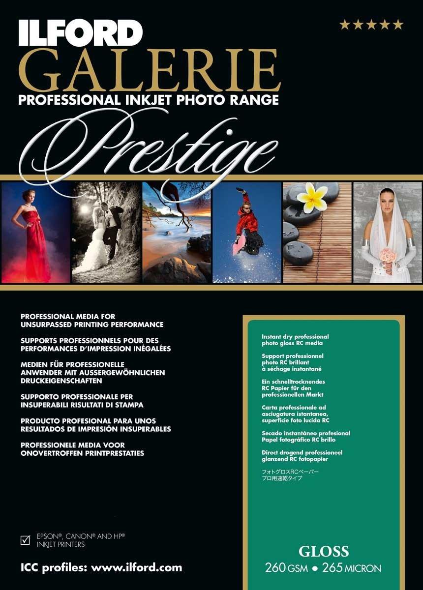 Ilford Galerie Prestige Gloss 260g color blanco bobina de 61cmx30m