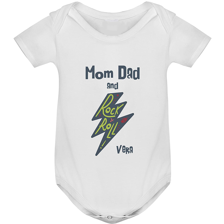 6-12 meses Blanco Body beb/é parodia Metallica Baby Metal
