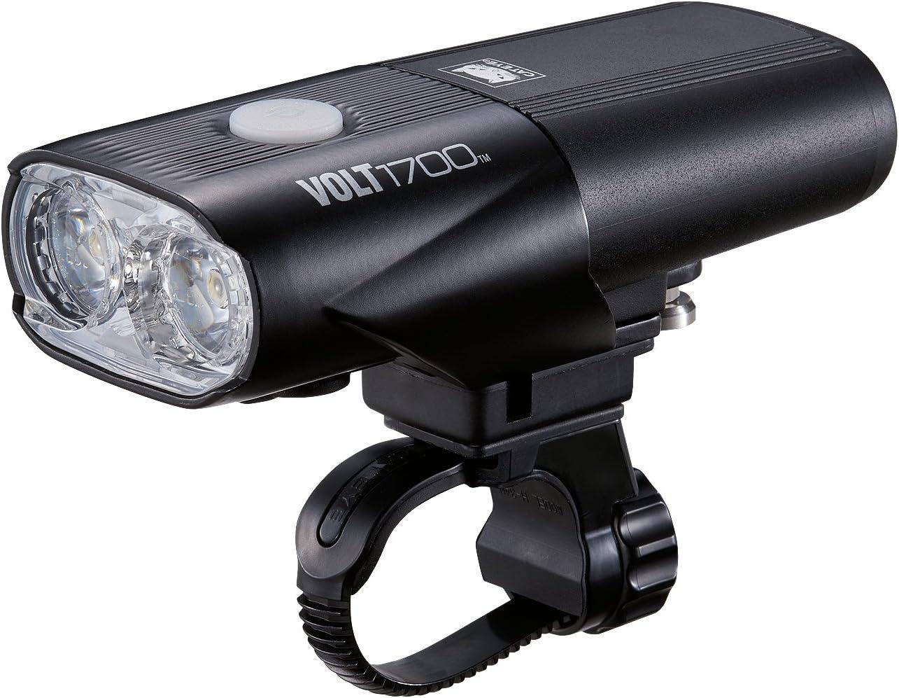 CatEye Unisex V 1700RC batería luz Delantera, Negro, Talla única