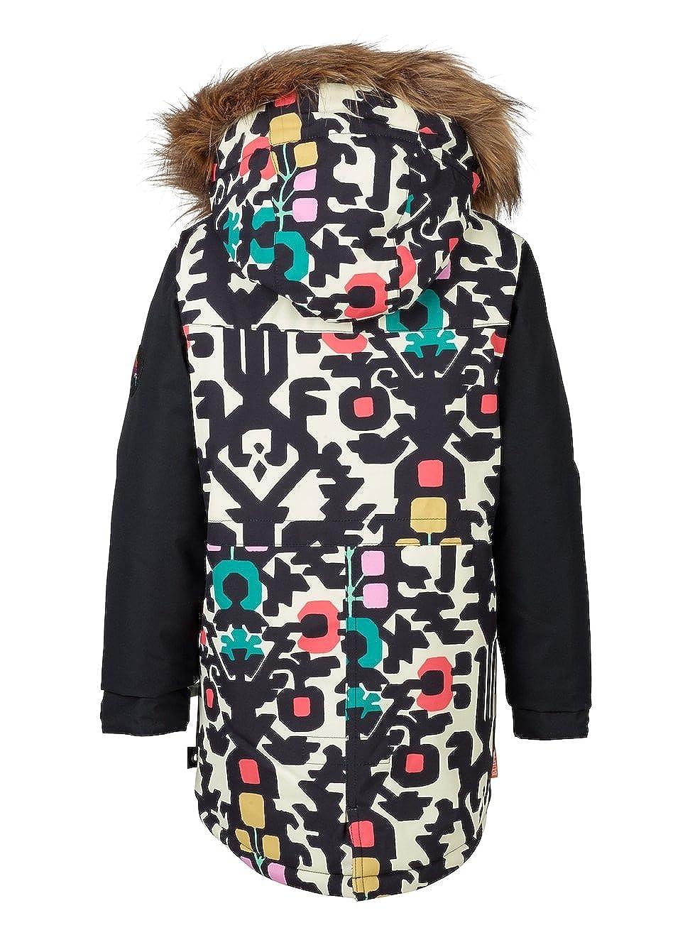 Amazon.com: Burton Girls Ms Aubrey Jk Yngflk Trublk-White-2T (86-89 cm): Clothing