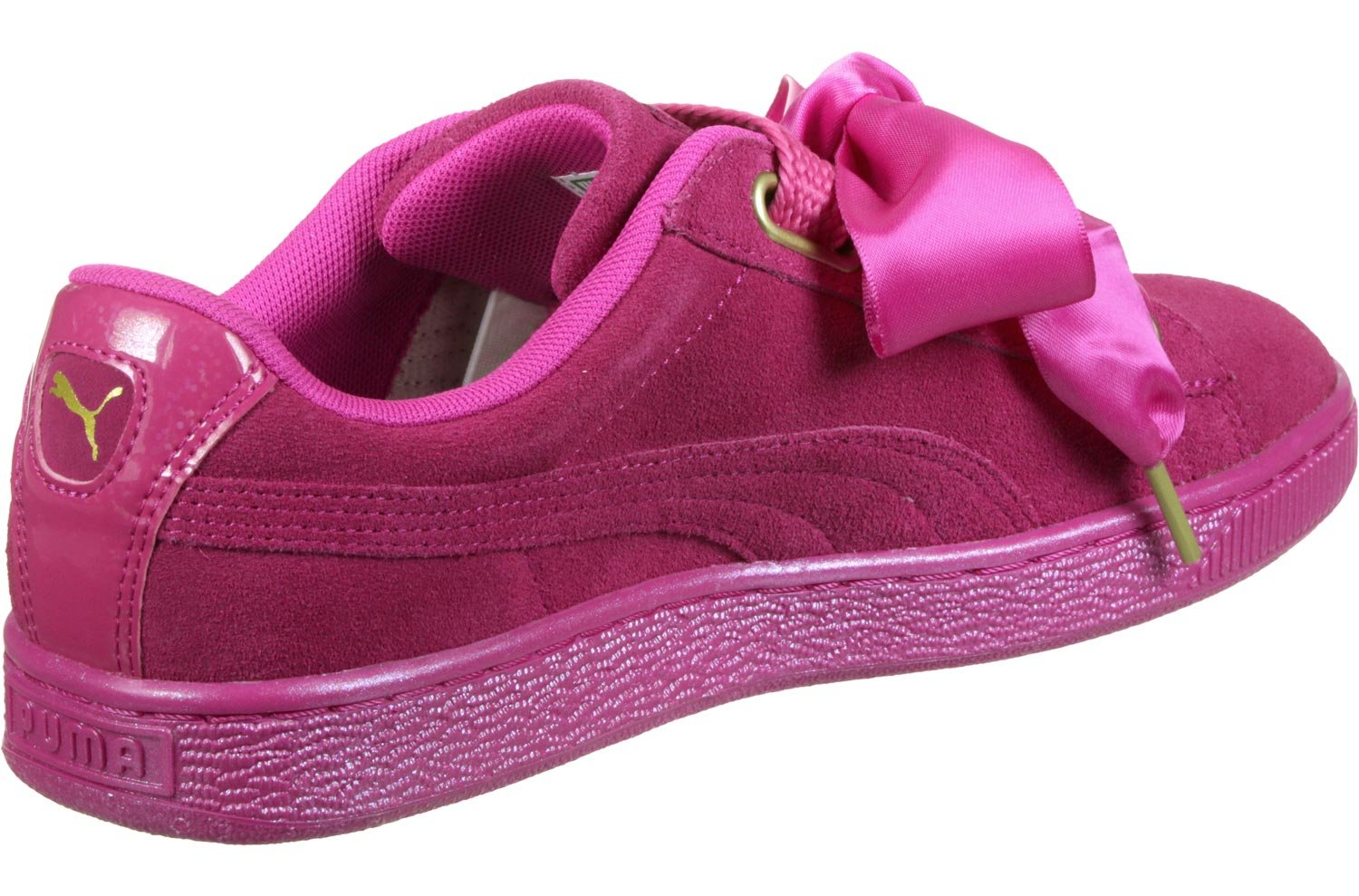 Puma Suede Heart II, Satin II, Sneakers Basses Heart Femme Suede Rose (Magenta) a6516c6 - piero.space