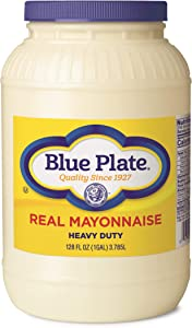 Blue Plate Extra Heavy Mayonnaise, 128 oz (Gallon) Jar