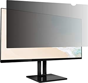 AmazonBasics Privacy Screen Filter for 23 Inch Widescreen Monitor (16:9)