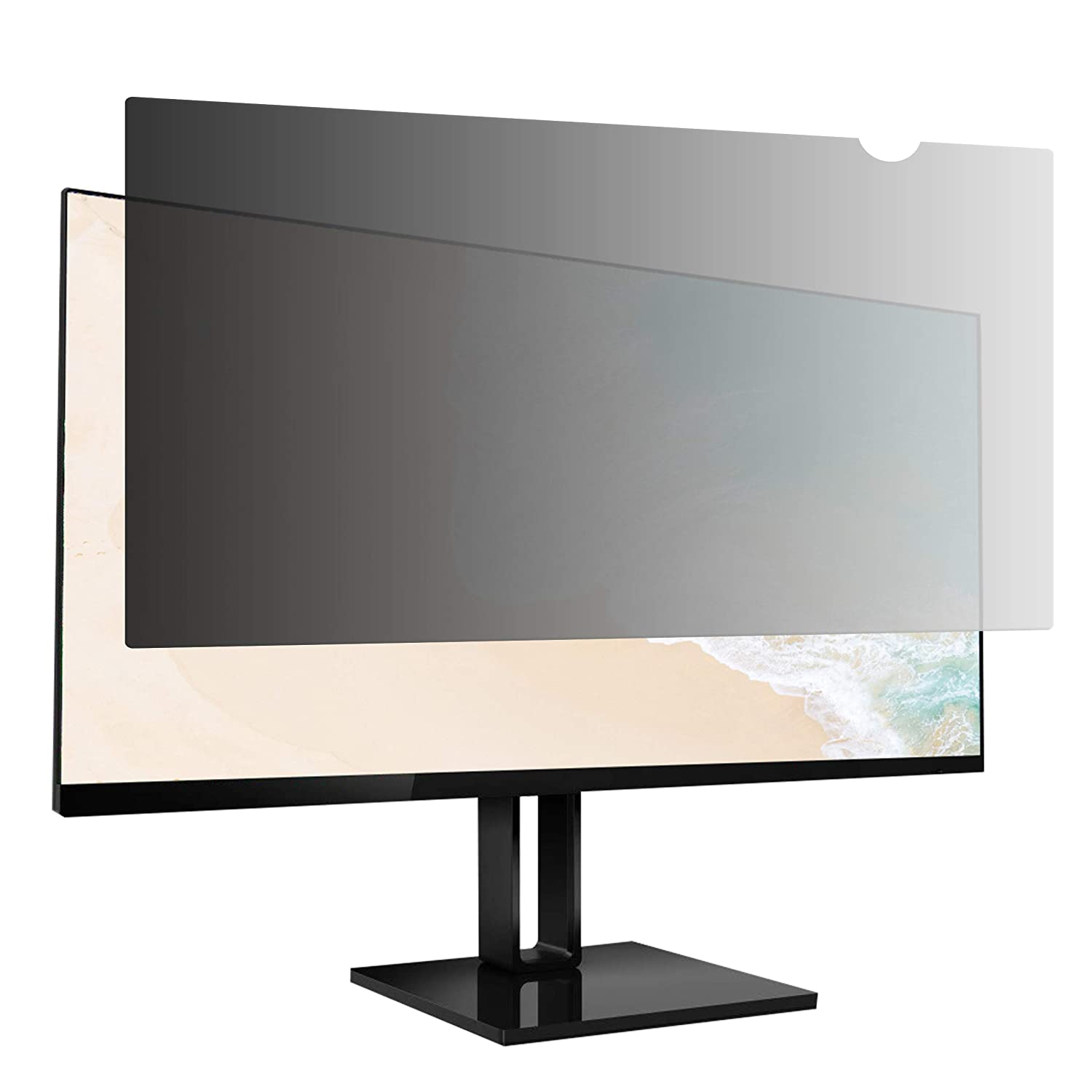 AmazonBasics Privacy Screen Filter for 21.5 Inch Widescreen Monitor (16:9)
