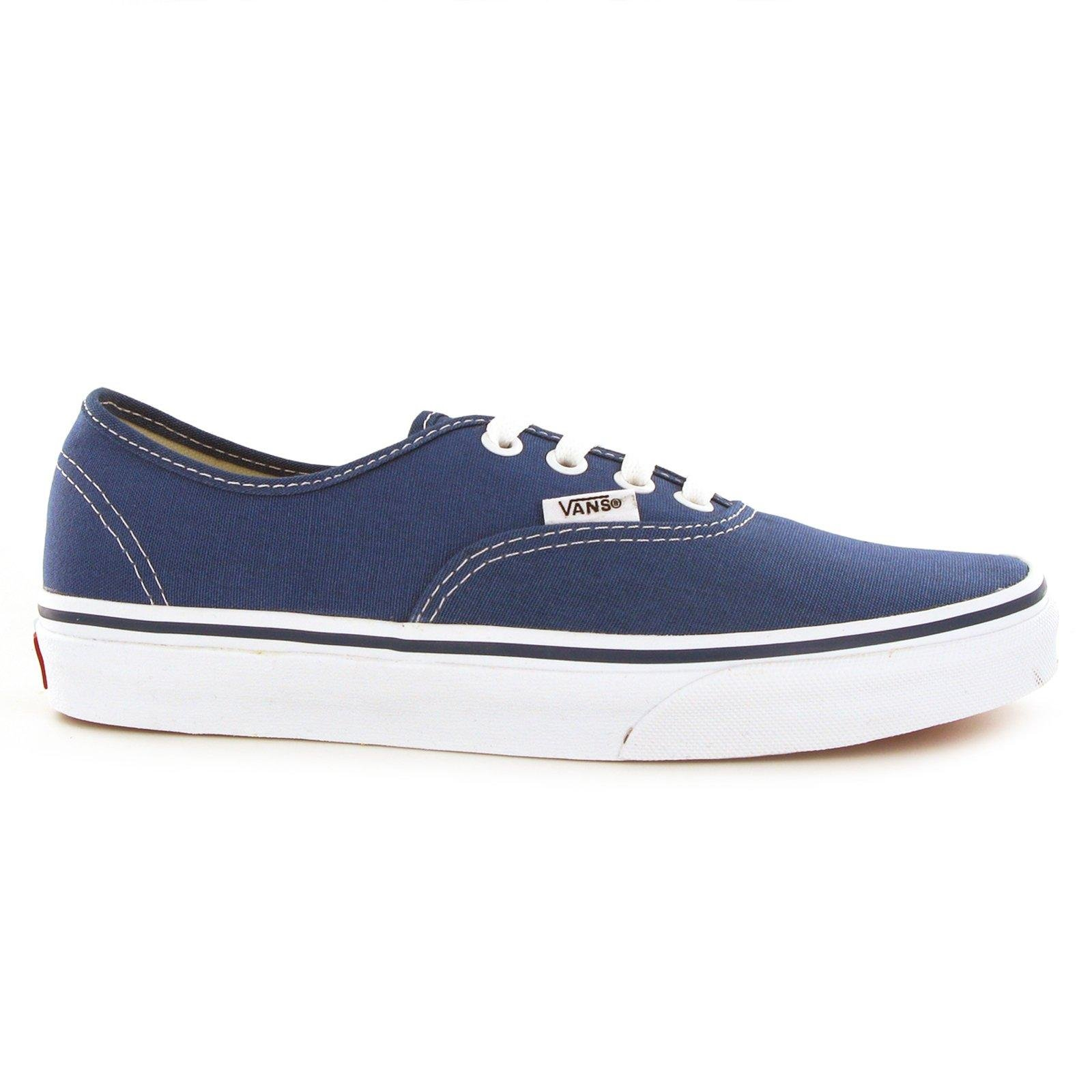 Vans Unisex Authentic Navy Canvas VN000EE3NVY Mens 7, Womens 8.5 by Vans