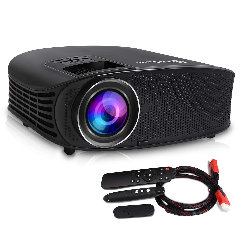 Proyector DHAWS 3800LM 1080P Full HD HDMI para Cine en casa y ...