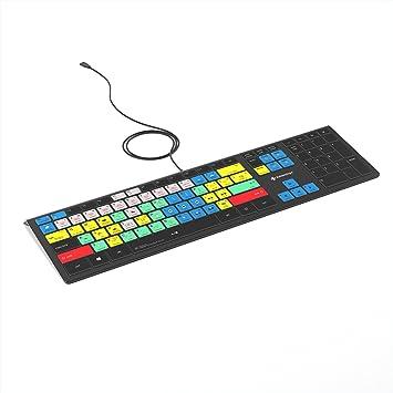 Adobe Premiere Pro CC Keyboard   Backlit PC Windows Edition   Editors Keys Shortcut Keyboard software de codificación de barra