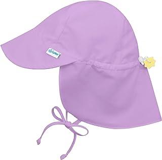 i play. Chapeau de protection solaire avec rabat, Lavande, 0-6 mois
