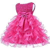 Jup'Elle Little Baby Girl Dress Flower Ruffles Party Wedding Pageant Princess Dresses