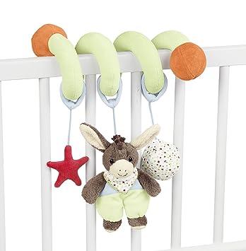 F/ür Babys ab der Geburt Inklusive Rassel und Knisterpapier Alter Sterntaler Spielzeugspirale