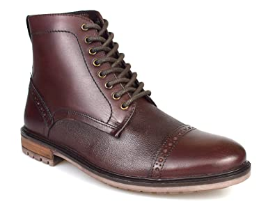 d4a990e066a Silver Street Monmouth Oxblood Leather Mens Formal Boots: Amazon.co ...
