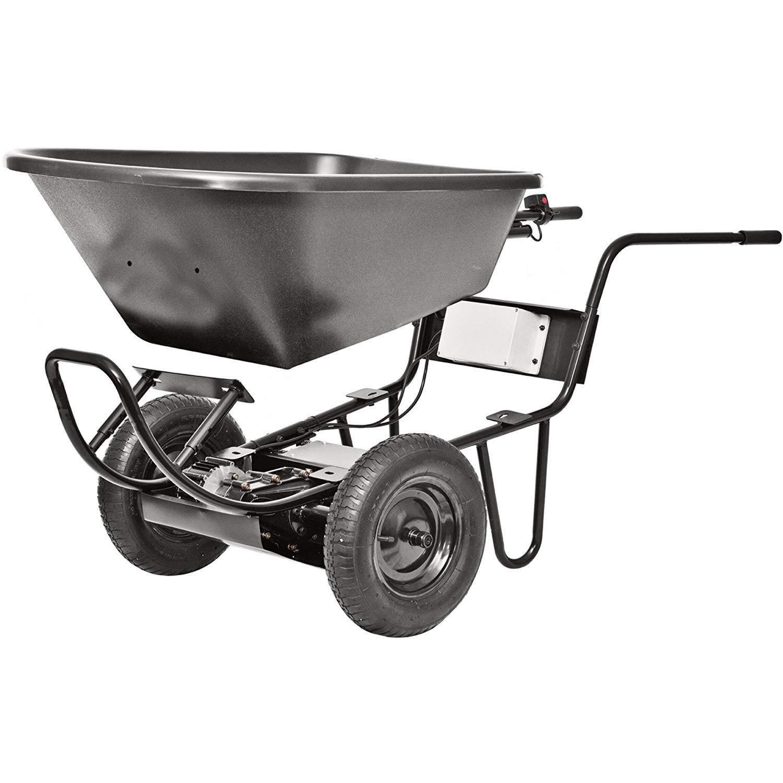 24 Volt Power Assist Wheelbarrow by Decko