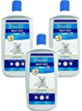 (3 Pack) Four Paws Magic Coat Bright White Dog Shampoo, 32 oz Each