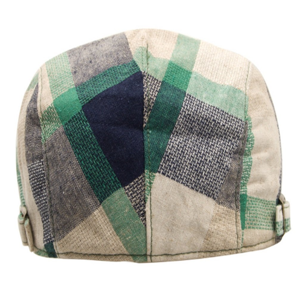 ... NUBAO Cappello Berretto Scozzese Cappello Berretto da Baseball  Regolabile Cappello Regolabile Baseball (Coloreee verde) 4bb594f995c0