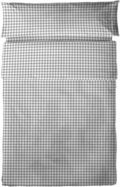 Juego de sábanas 100% algodón, 3 piezas (cama 150, MODENA): Amazon ...