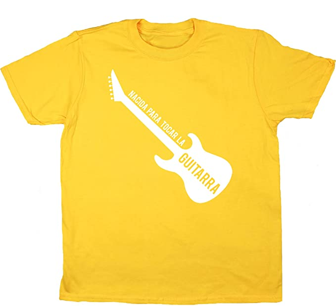 HippoWarehouse Nacida Para Tocar La Guitarra (Eléctrica) camiseta manga corta niños niñas unisex