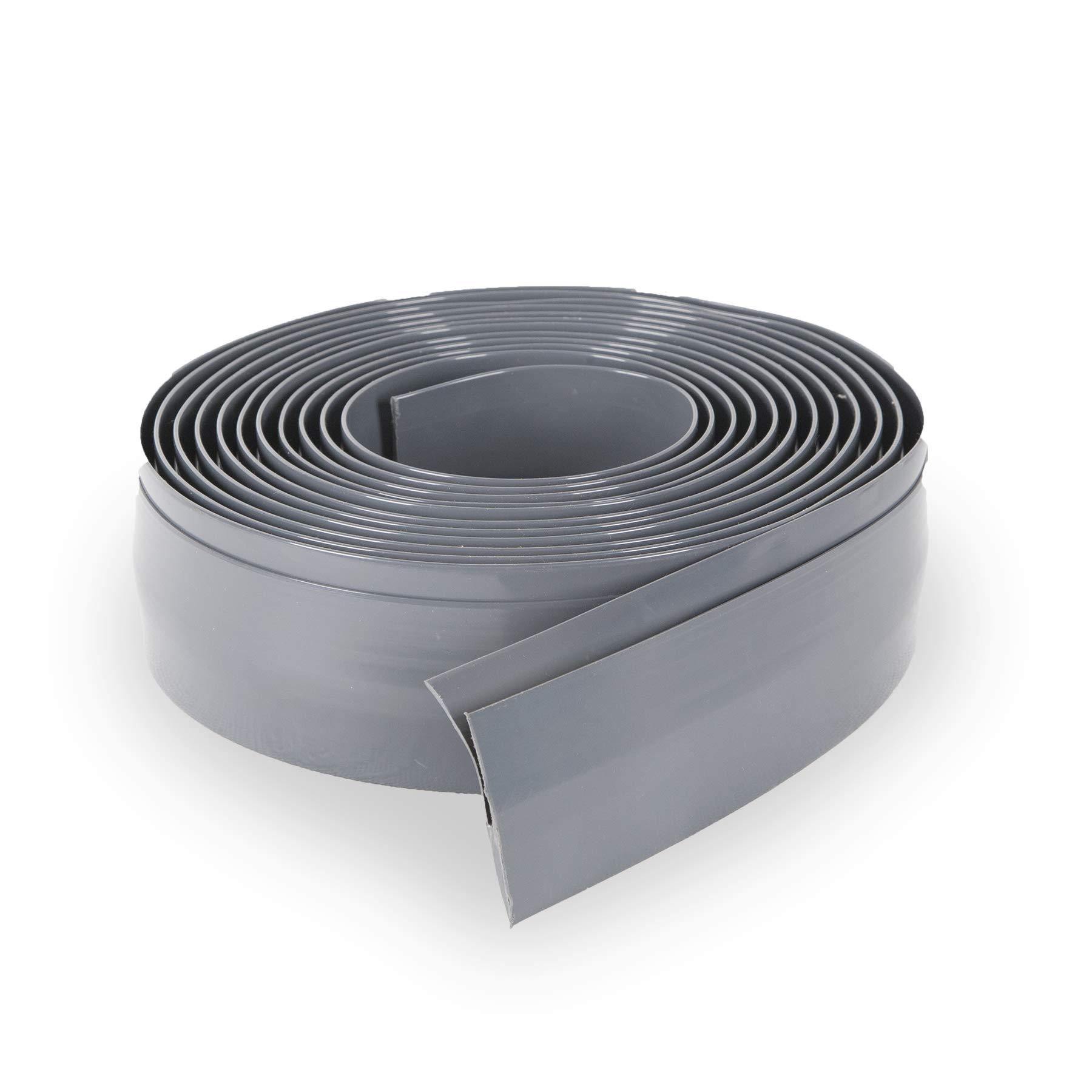 G-Floor Mat Edge Trim 25' in Slate Grey by G-Floor