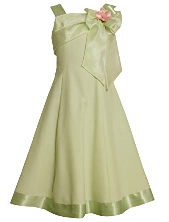 Amazon Bonnie Jean Size 145 Green Bnj 2390r Green Linen