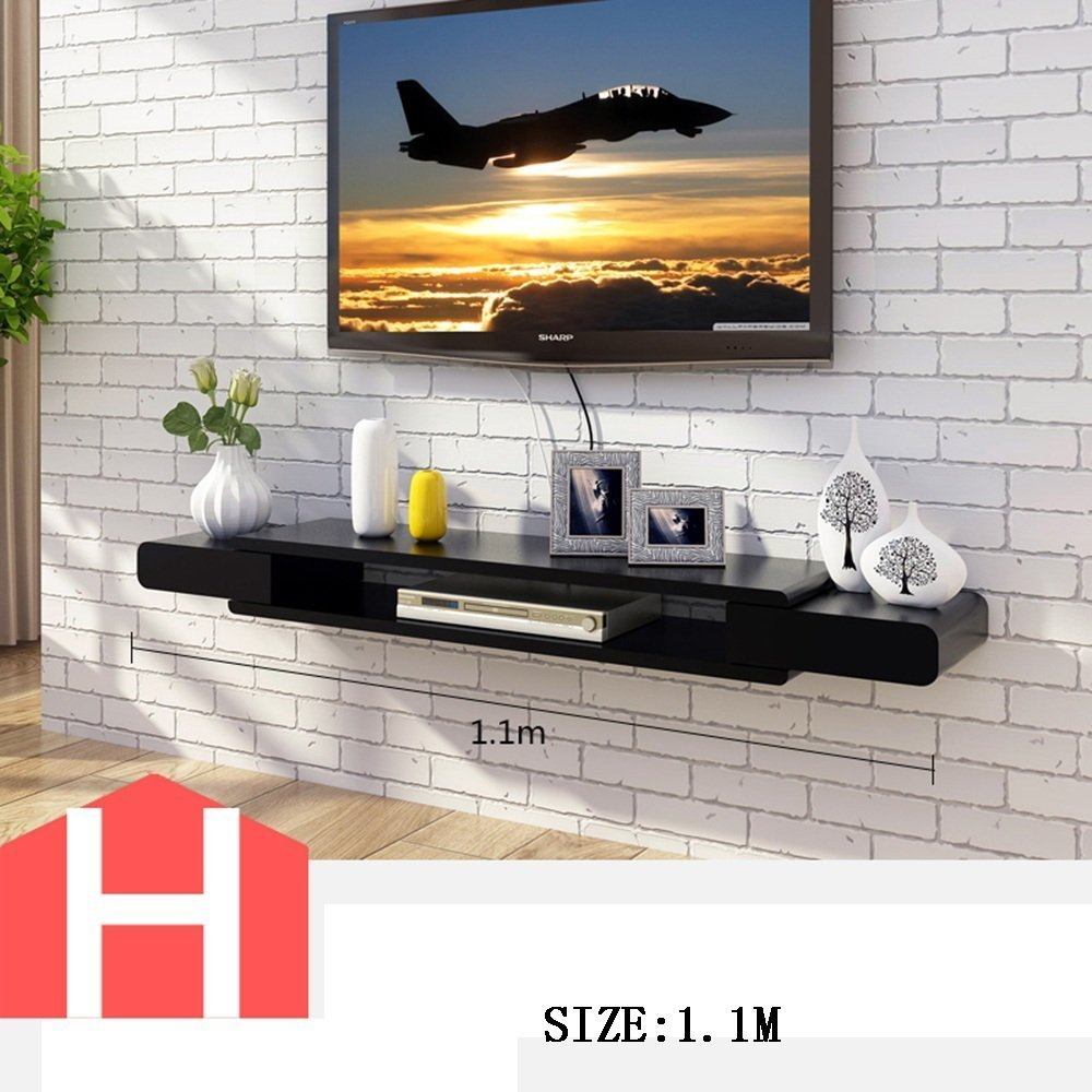 HOMEE Tv Cabinet Set - Top Box Shelves Living Room Tv Wall Background Wall Hanging Bedroom Partitions Wall Decoration (Multiple Styles Available),H