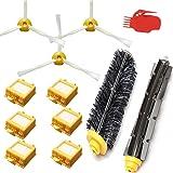 Techypro® Reposición Pack Cepillos Kit para iRobot Roomba aspiradora serie 700-incluyen un conjunto de 12