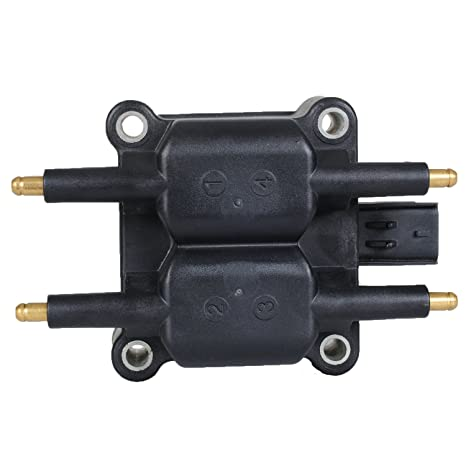 Ignition Coil Pack for Chrysler - Dodge - Jeep - Mitsubishi - Plymouth 1 6L  2 4L L4 Compatible with 88921267 C1136 UF189 UF403 UF410