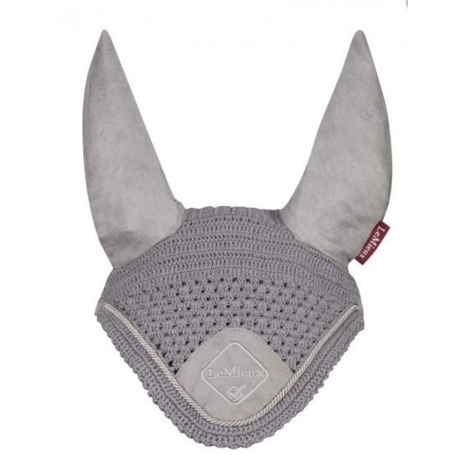 Lemieux Vogue Fly Hoods - Grey/grey Braid - Medium by LeMieux