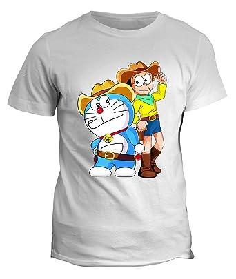 Fashwork tshirt cartoni animati anni doraemon nobita