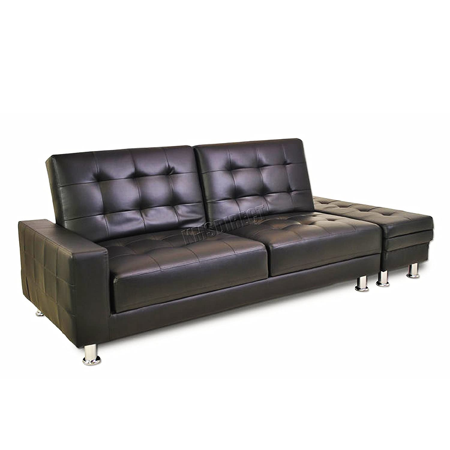 Superb Westwood Modern Design Pu Sofa Bed With Storage 3 Seater Guest Sleeper Convertible Ottoman Foot Stool Chaise Longue Livingroom Home Furniture Faux Camellatalisay Diy Chair Ideas Camellatalisaycom