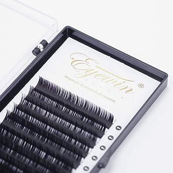 9323151928e Amazon.com : Volume Lash Extensions Alluring C Curl 8-14mm Mixed Tray  Ellipse Faux Mink Permanent False Eyelashes Cluster Individual Eyelash  Natural Look 12 ...